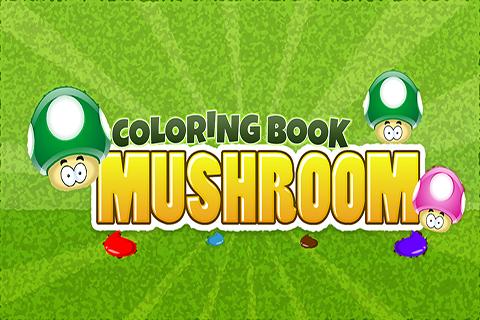 Coloring Book Mushroom