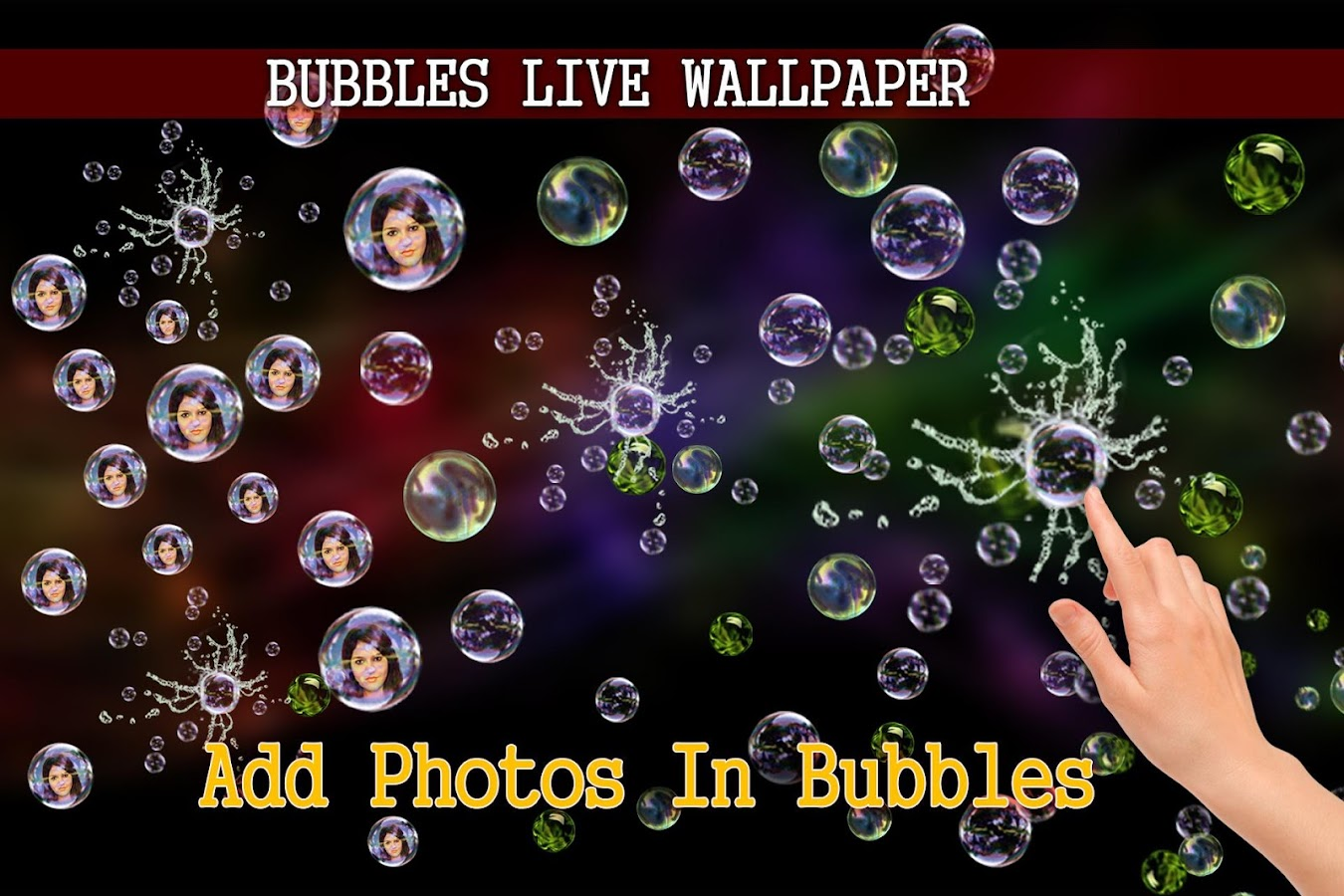 Photo Bubbles Live Wallpaper  Android Apps on Google Play