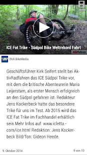 Bike News- screenshot thumbnail