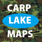 carp lake maps - Carp Fishing
