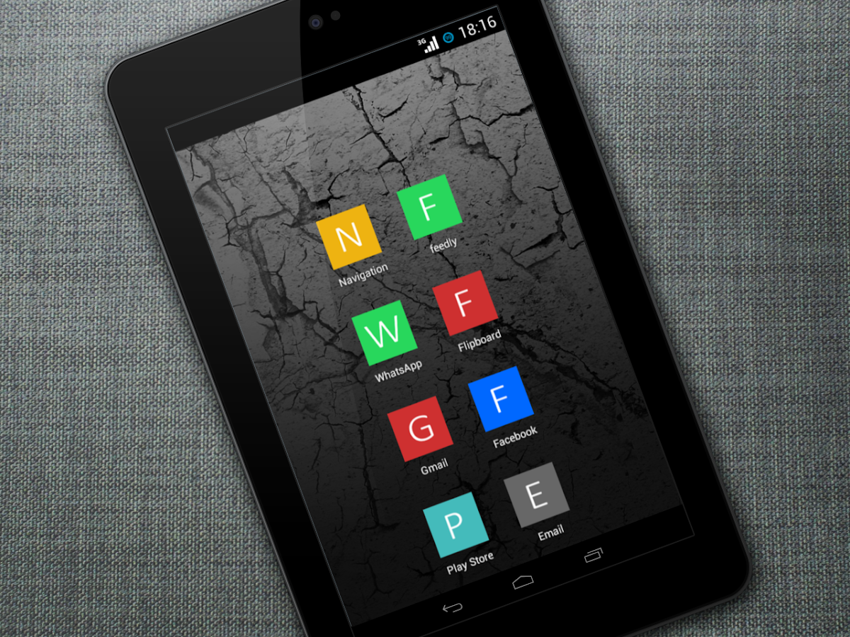 Minimalistic Tiles Icon Pack - screenshot