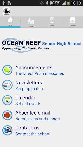 Ocean Reef Senior High School
