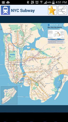 紐約地鐵地圖