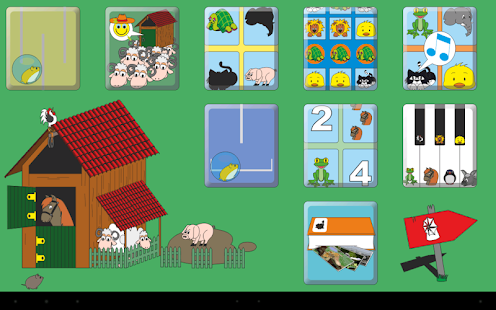Kids' Animal Games HD