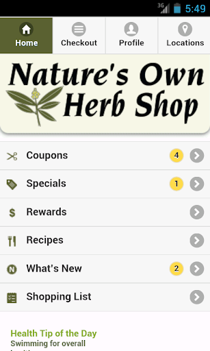 Nature's Own Herb Shop