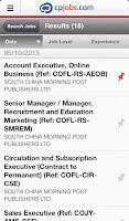 Screenshot of cpjobs.com