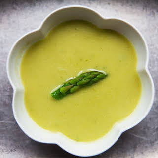 Creamy Asparagus Soup.