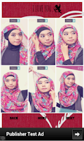 Screenshot of Hijab app