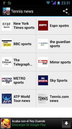 Tennis News magazines