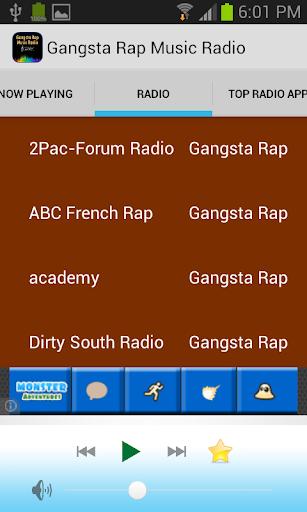 Gangsta Rap Music Radio