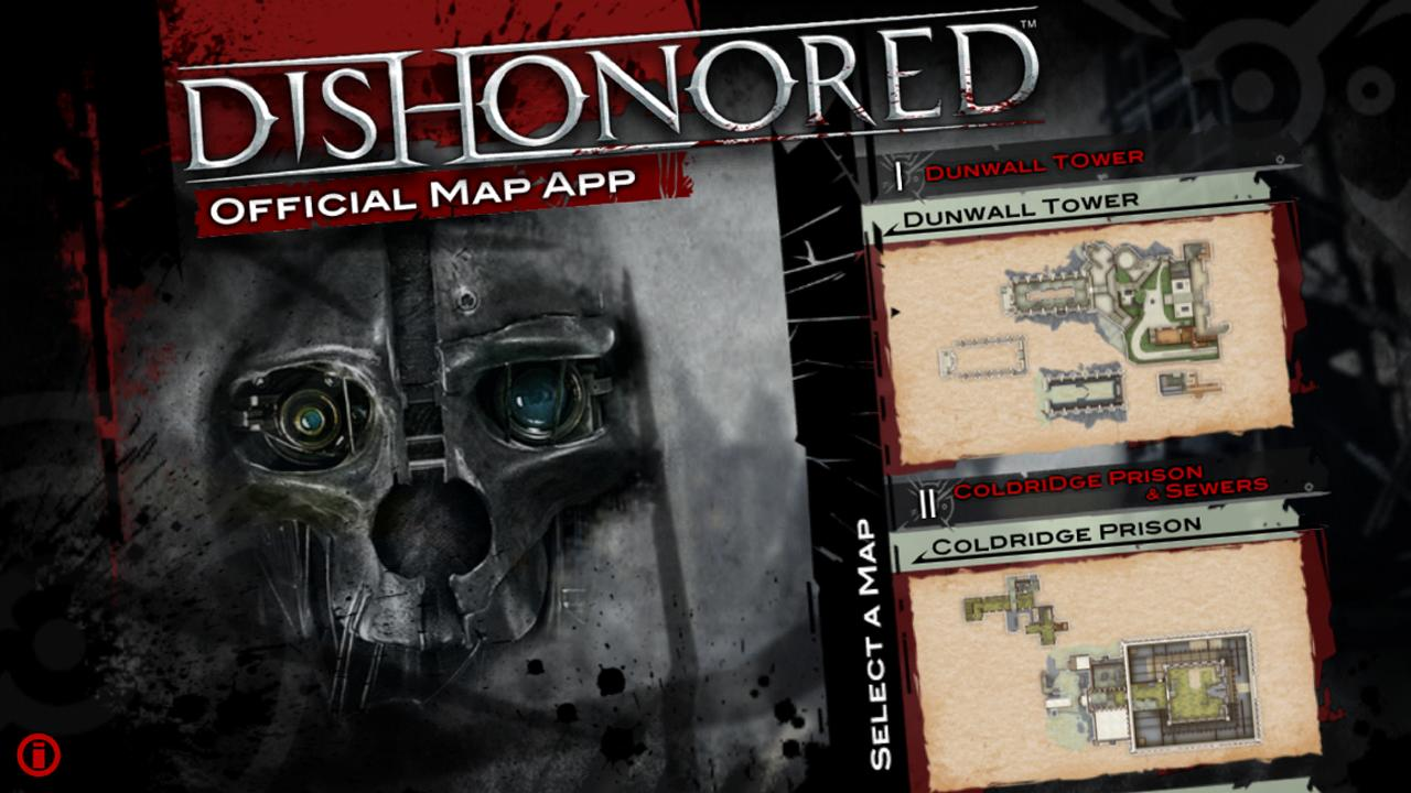 Dishonored Official Map App- screenshot