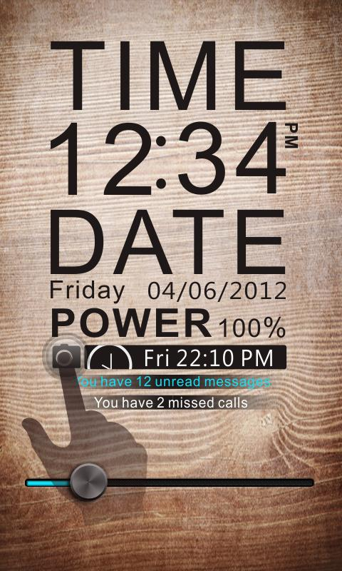 TIME Theme GO Locker - screenshot