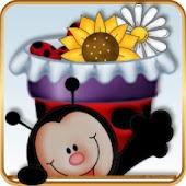 TSF Shell Theme Cute Ladybugs