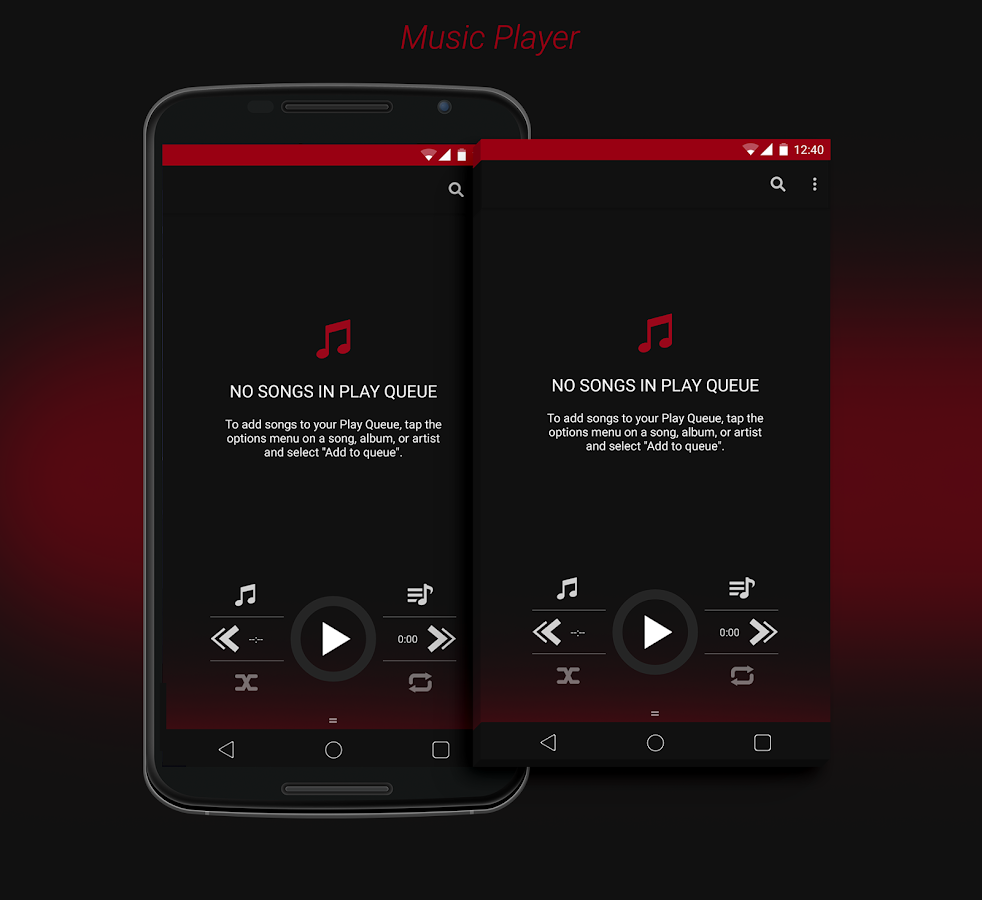 DarkOut CM12 / CM11 Theme - screenshot