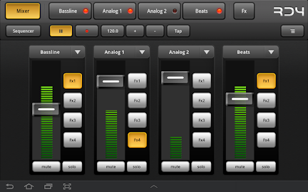 RD4 Groovebox Demo Screenshot 12