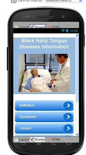 Black Hairy Tongue Information