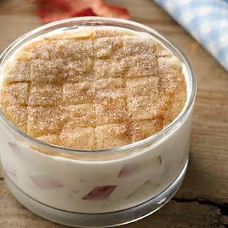 Apple Pie Yogurt Cup.