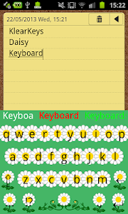 KlearKeys Daisy Keyboard screenshot 4