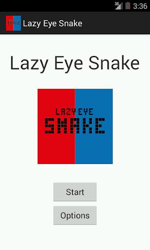 Lazy Eye Snake