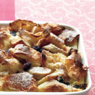 Banana-Raisin Bread Pudding