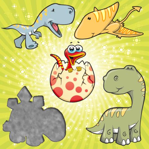 為孩子們的恐龍拼圖 LOGO-APP點子