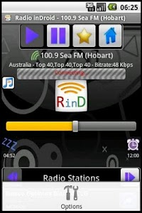 Radio inDroid screenshot 3