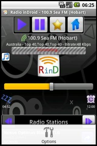 Radio inDroid - screenshot
