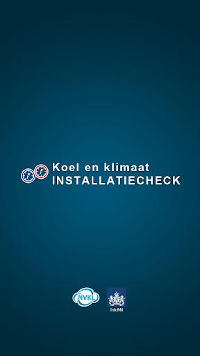 Installatiecheck