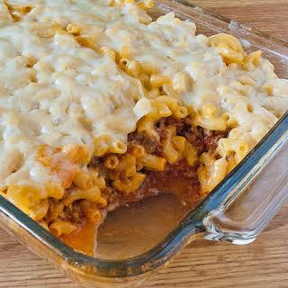 Mac and Cheese Lasagna.