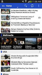 VOA News - screenshot thumbnail
