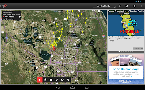 WeatherBug Screenshot 27