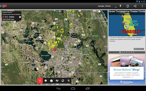 WeatherBug - Forecast & Radar Screenshot 27