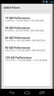 Rackspace Cloud- screenshot thumbnail