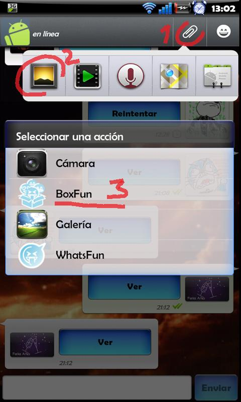 BoxFun WhatsApp Kakao Chat - screenshot