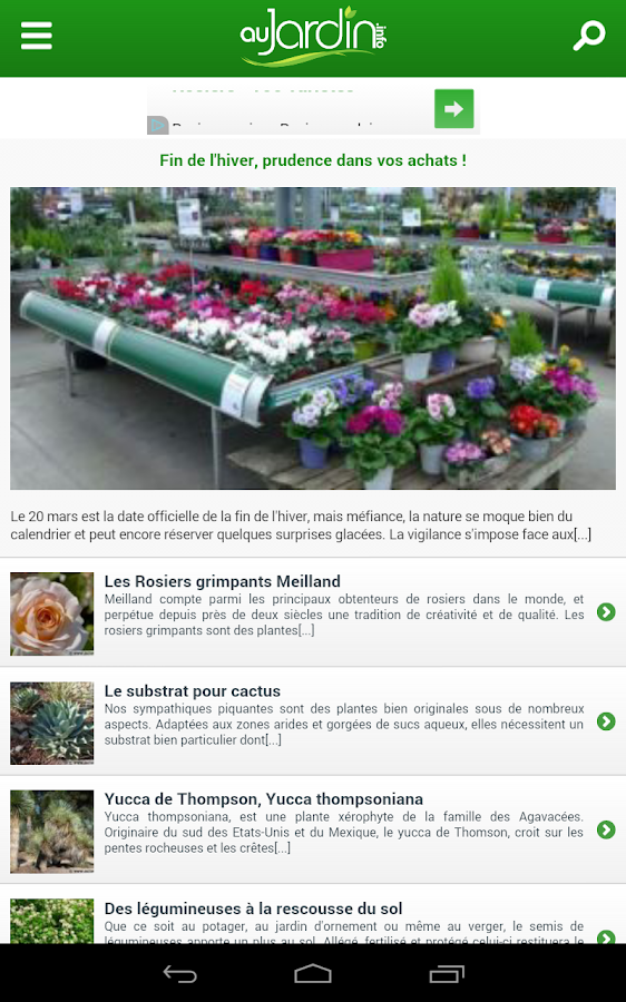 Au Jardin- screenshot