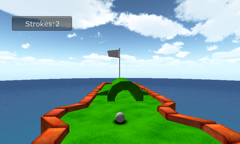 Screenshots of Mini Golf Games 3D for iPhone