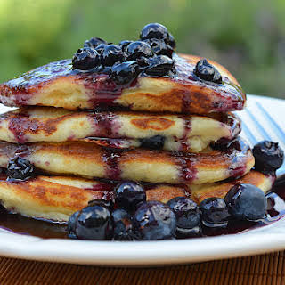 Blueberry Maple Syrup.
