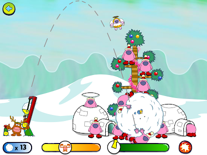 Snowball Shootout- screenshot thumbnail