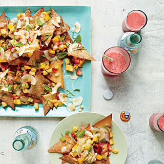 Tropical Fruit Nachos.