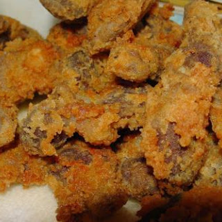 Pam's Tender Fried Chicken Gizzards.