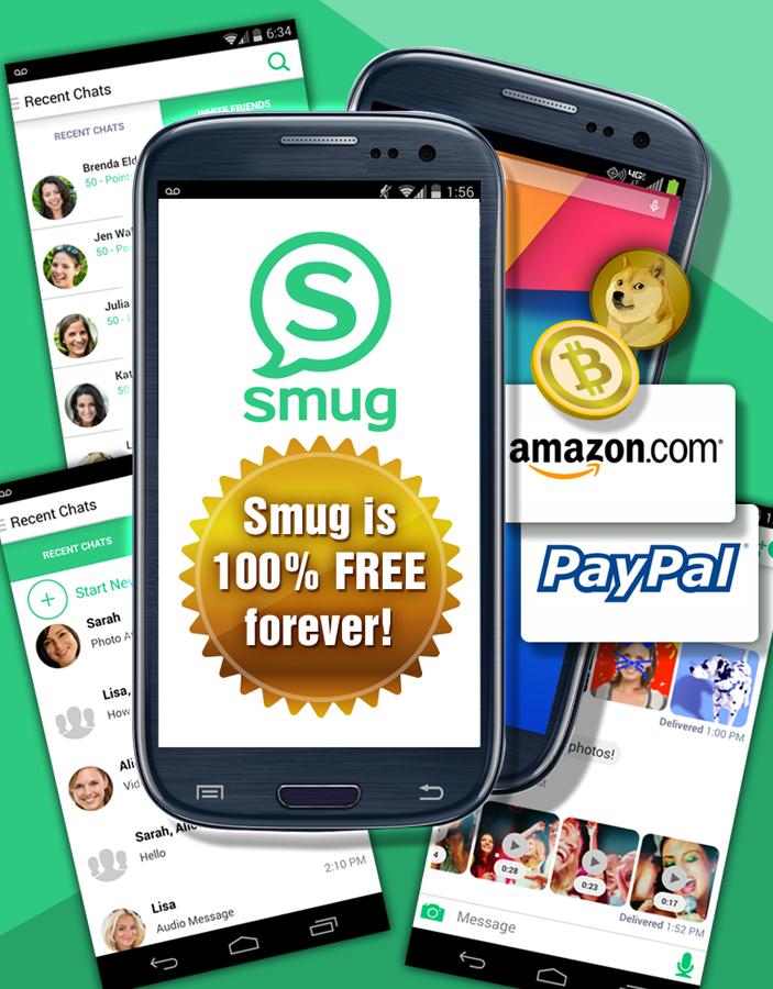 Smug Messenger- screenshot