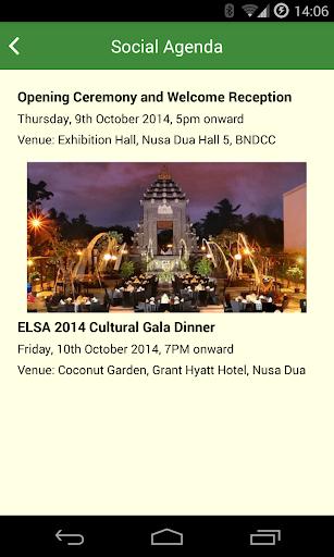 ELSA 2014 App