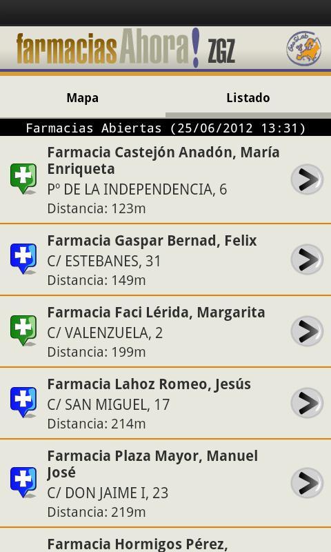Farmacias Ahora! Zaragoza- screenshot