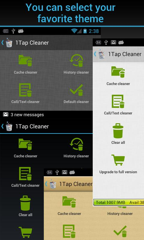 1Tap Cleaner Pro - screenshot