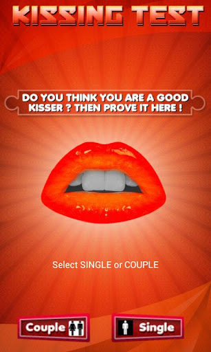 Kissing Test