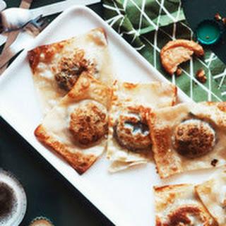Pan-Fried Queso Fundido Dumplings.