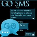 GO SMS Pro Theme Ice Minimal icon