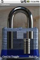 Screenshot of LockPicker