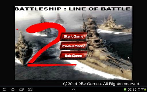 Battleship : Line Of Battle 2