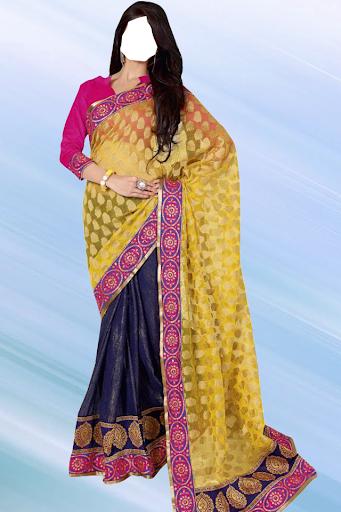 Designer Saree Photo Suit